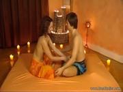 Видео боди массажа
